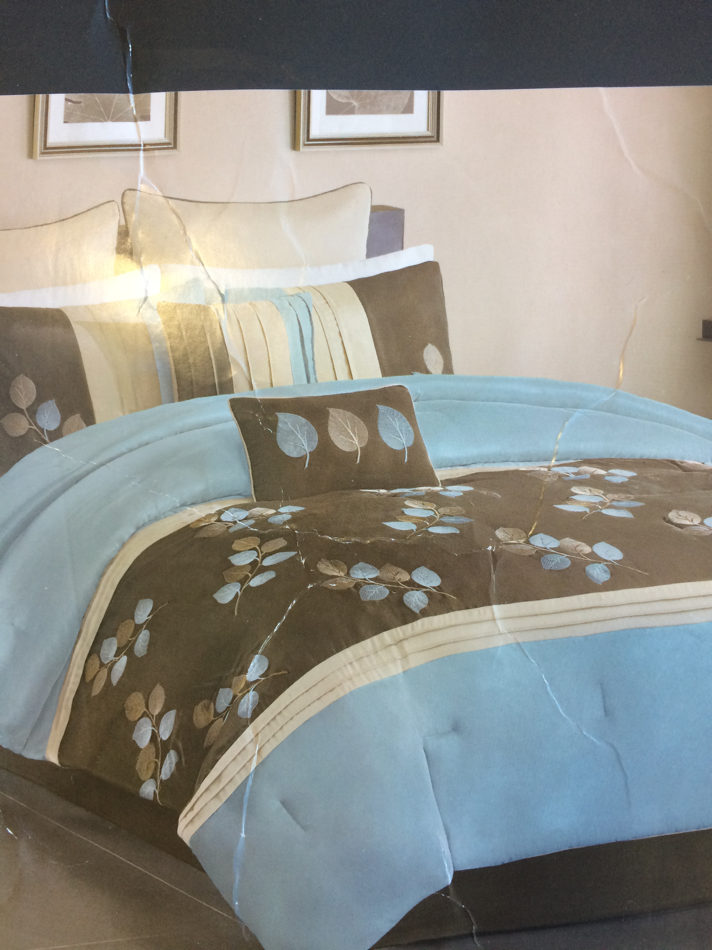 of image matching bedroom curtains bedding brown king with piece and kingblue egg inspirations sets robin fabulous comforter fascinating size full cal furniture blue